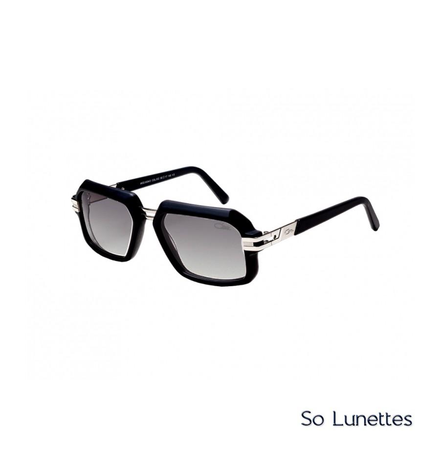 79ae18b5b5608f Cazal 6004 3 002 Noir Mat Argent - So-Lunettes