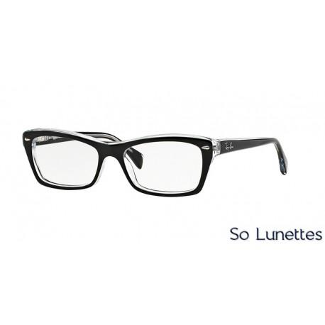 Lunettes de vue Ray-Ban Femme RX5255 (51) RX5255 2034 Noire