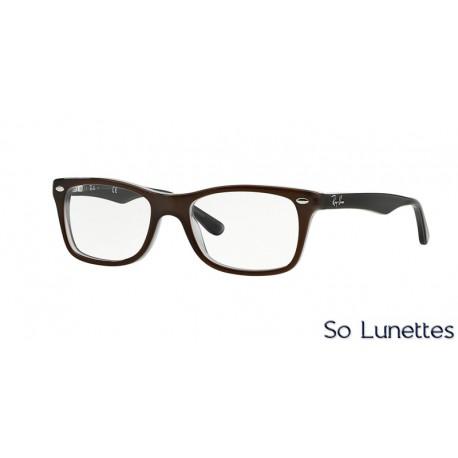 Lunettes de vue Ray-Ban Femme RX5228 5076 Marron