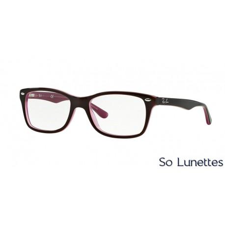 Lunettes de vue Ray-Ban Femme RX5228 2126 Marron