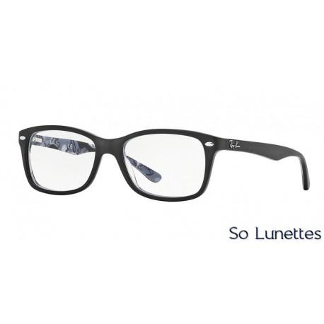 Lunettes de vue Ray-Ban Femme RX5228 5405 Noire