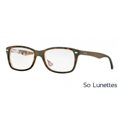 Lunettes de vue Ray-Ban Femme RX5228 5409 Écaille