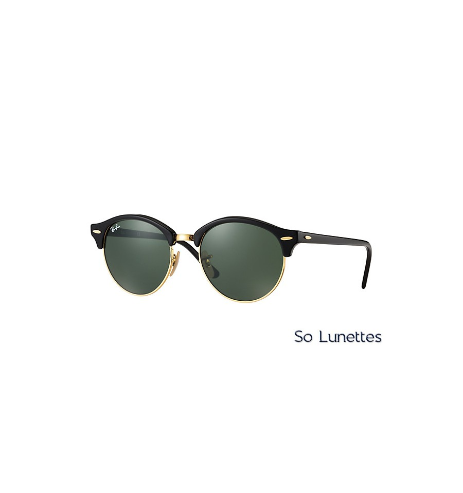 Ray-Ban Clubround Lunettes de soleil - black 0wdpGG