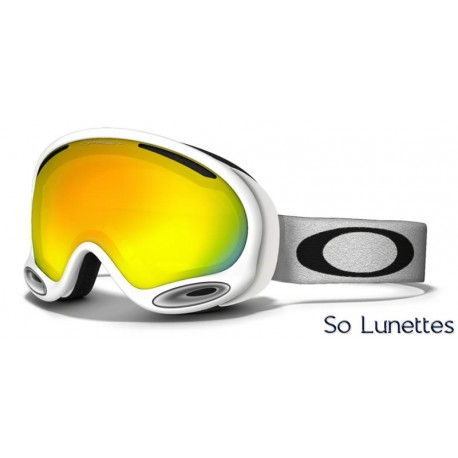 Masque de ski Oakley A-FRAME 2.0 POLISHED WHITE OO7044