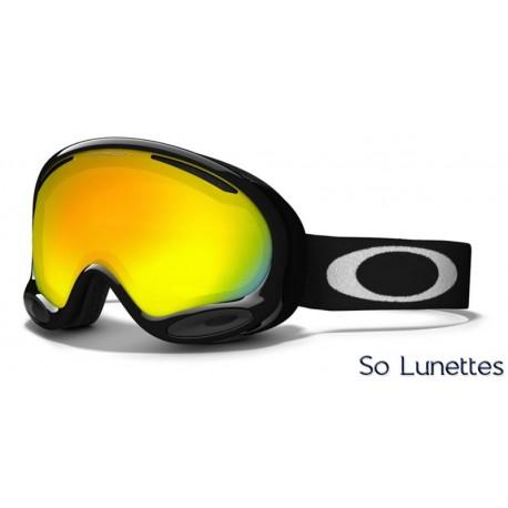 Masque de ski Oakley A-Frame 2.0 Jet Black OO7044