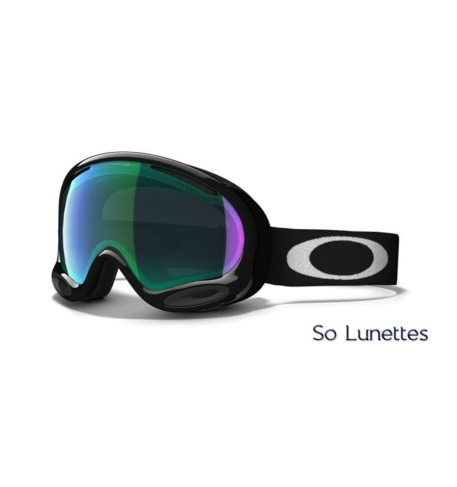 Masque de ski Oakley A-Frame 2.0 Jet Black OO7044 704401 - So-Lunettes 83cae9fbdd67