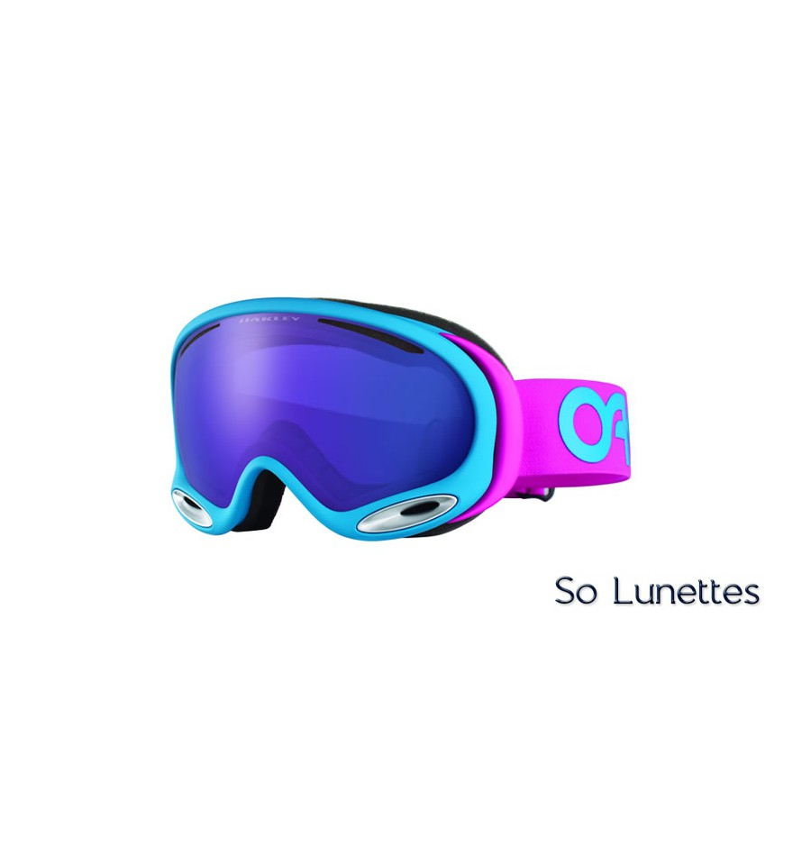 Masque de ski Oakley A-Frame 2.0 Factory Pilot Pink OO7044 704420 ... f7d8fcd20f3a