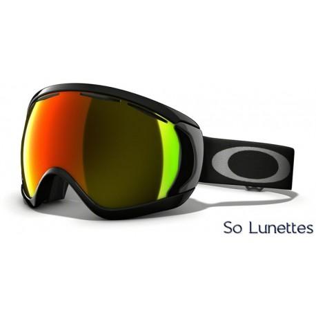 Masque de ski Oakley CANOPY MATTE BLACK OO7047 57-776