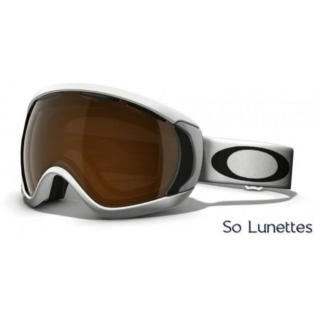 Masque de ski Oakley CANOPY MATTE WHITE OO7047 57-862