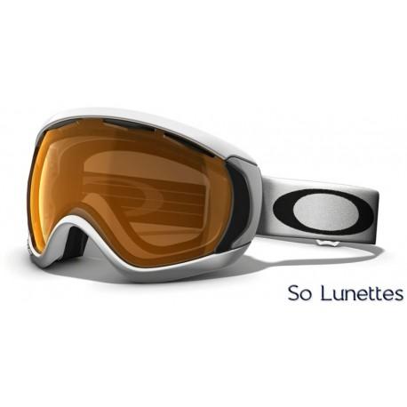 Masque de ski Oakley CANOPY MATTE WHITE OO7047 57-863