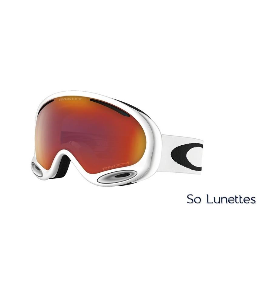 Masque de ski Oakley A-Frame 2.0 Polished White OO7044 704450 - So ... e5e727d3fef8