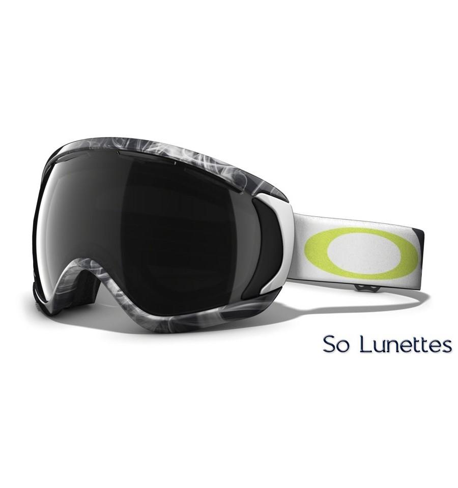Masque de ski Oakley CANOPY BURNED OUT GUNMETAL OO7047 59-474 - So ... 874731cffcc4