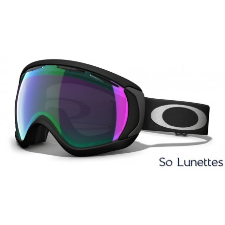 Masque de ski Oakley CANOPY MATTE BLACK OO7047 59-730