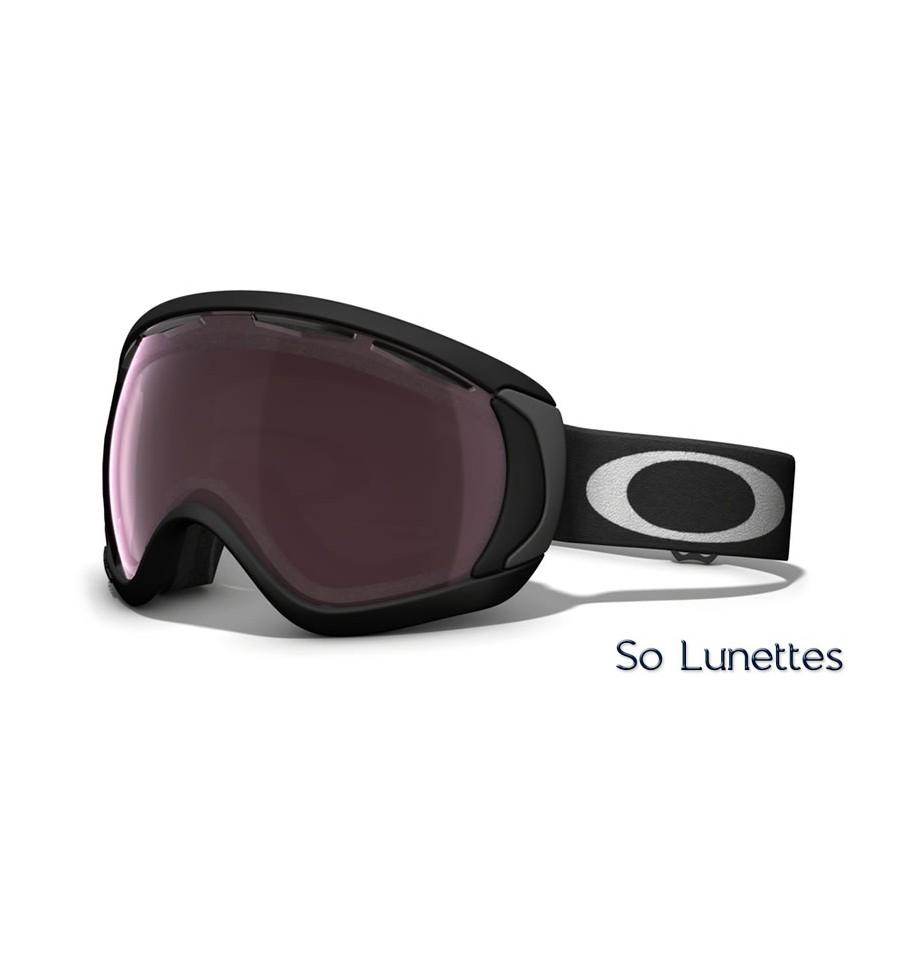 Masque de ski Oakley CANOPY MATTE BLACK OO7047 704701 - So-Lunettes 16edb1a0cf78