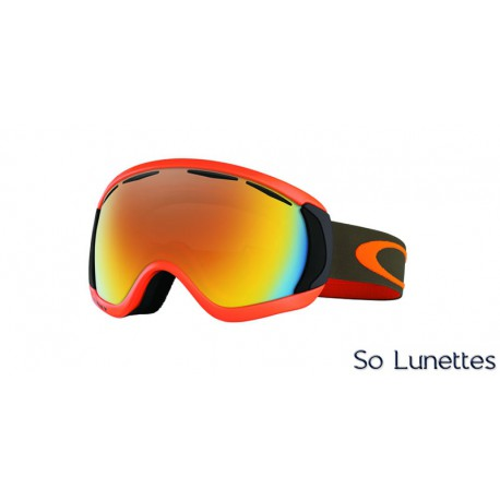 Masque de ski Oakley CANOPY HERB ORANGE OO7047 704710