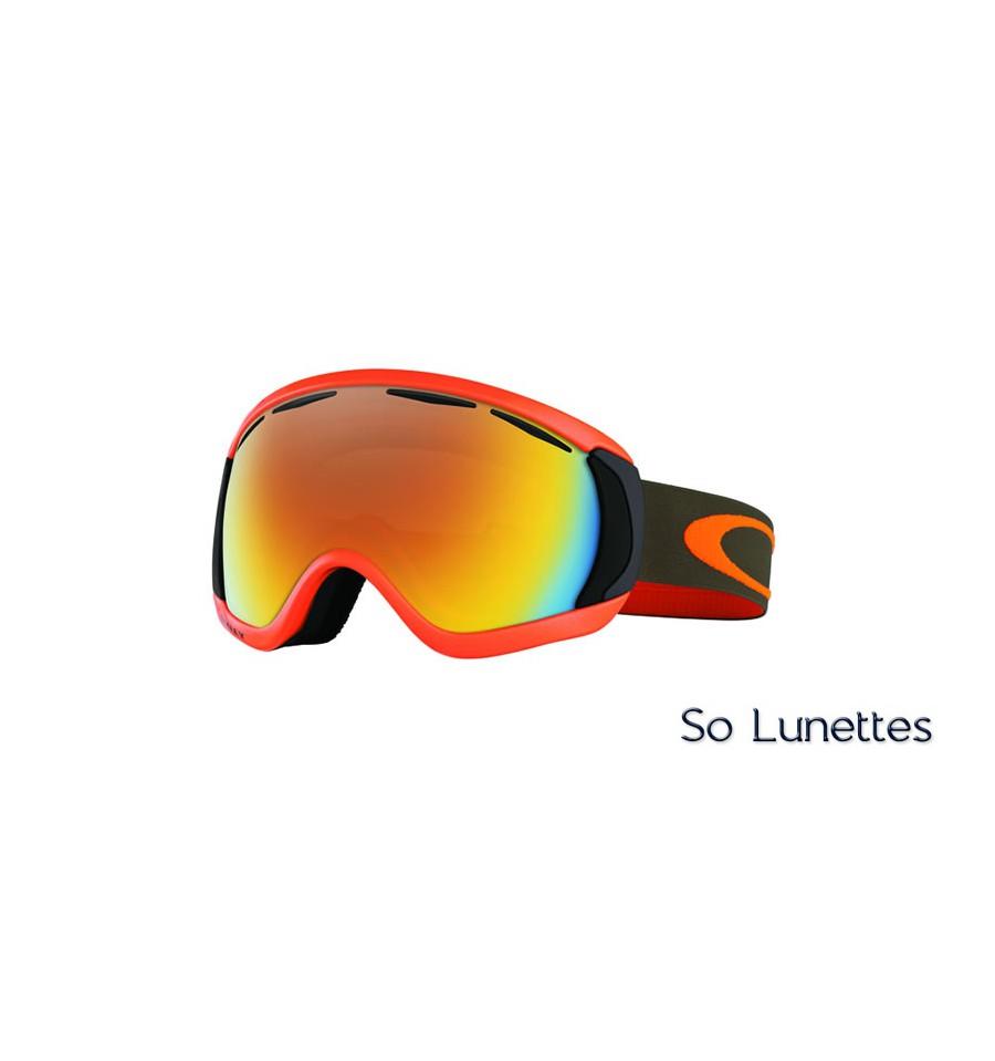 masque ski orange