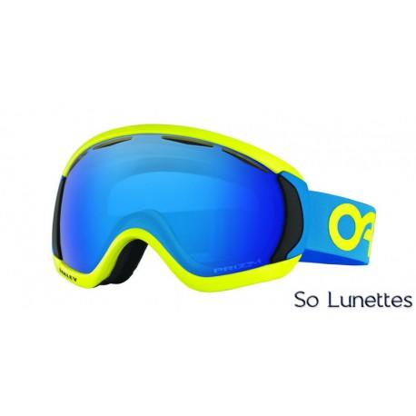 Masque de ski Oakley Canopy Factory Pilot Retina Blue OO7047 704737 ... 077de1f09eee
