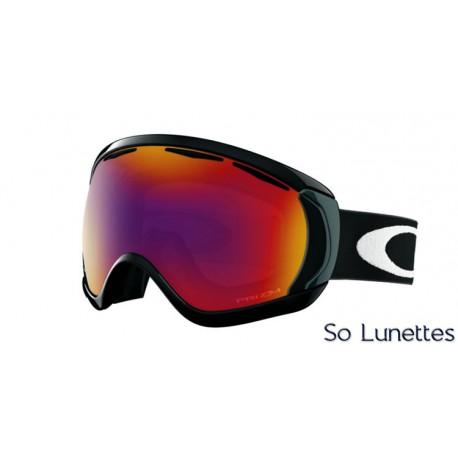Masque de ski Oakley CANOPY MATTE BLACK OO7047 704743
