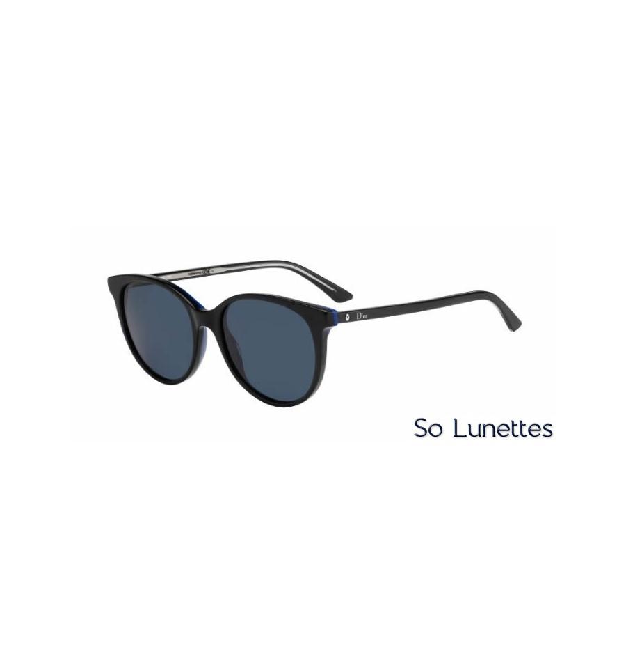 Lunette de soleil Dior Montaigne16S MV3 (KU) BKBLUECRY dad09c95420a
