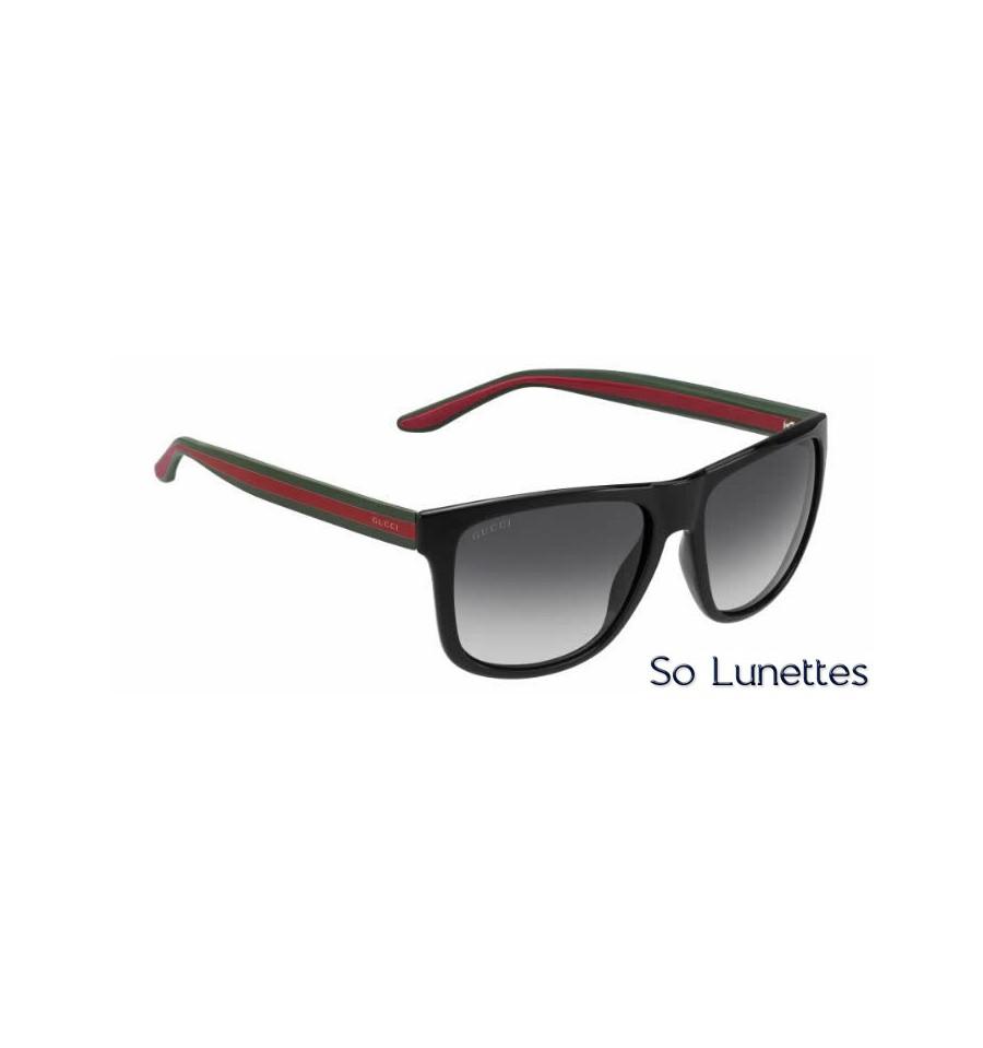 gucci gg 1118 s 51n 9o bkgrnred so lunettes. Black Bedroom Furniture Sets. Home Design Ideas