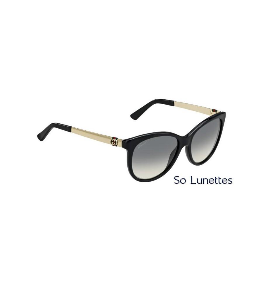 Lunette de soleil Gucci Gg 3784 S ANW (DX) BLCK GOLD 5d8771ec05a7