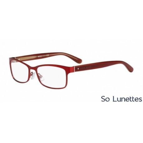 boss 0744 kjy rouge so lunettes. Black Bedroom Furniture Sets. Home Design Ideas