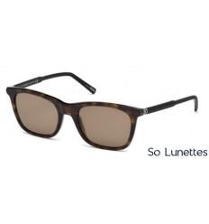 Montblanc MB607S 52J tortoise foncé - roviex. Montblanc MB607S 52J tortoise  foncé - roviex. Les lunettes de soleil Montblanc Homme ... e5c38971efb5