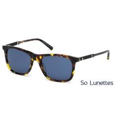Montblanc MB606S 55V tortoise coloré - bleu. Montblanc MB606S 55V tortoise  coloré - bleu. Les lunettes de soleil Montblanc Homme ... db161cbd63c0
