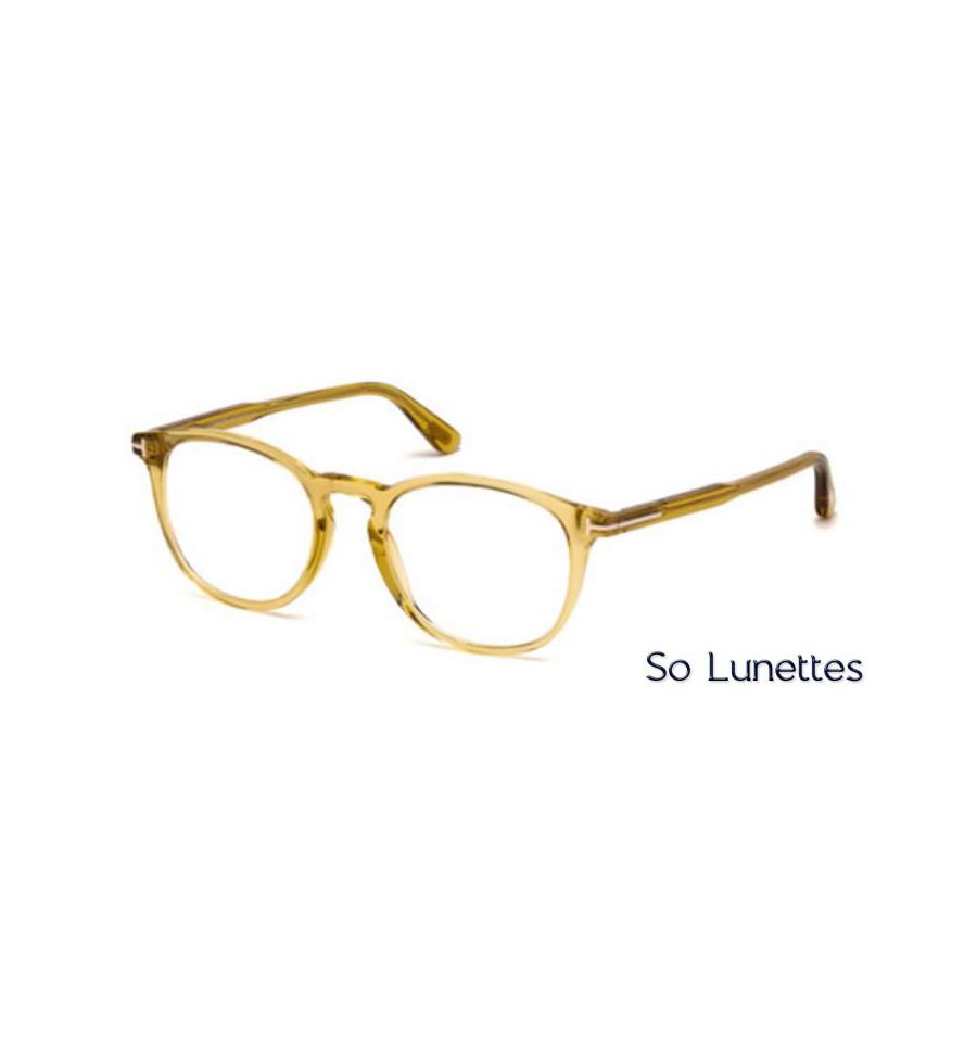 tom ford ft5401 041 jaune so lunettes. Black Bedroom Furniture Sets. Home Design Ideas