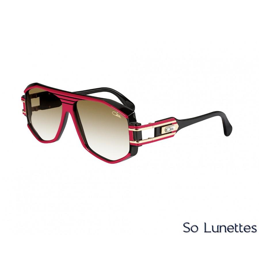 Cazal 163 3 200 Rouge Noir - So-Lunettes 308b91960698