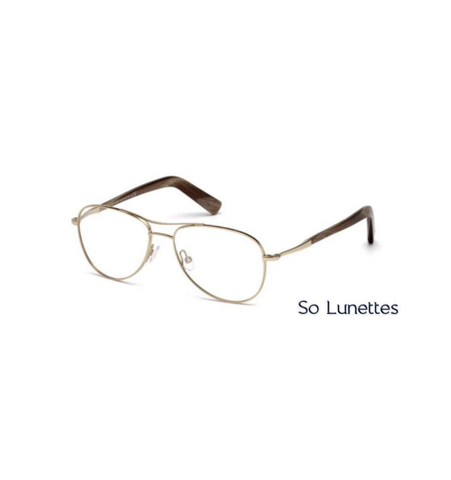 Lunette de vue Tom Ford FT5396 028 or rosé brillant 9e8e8c17ffaa