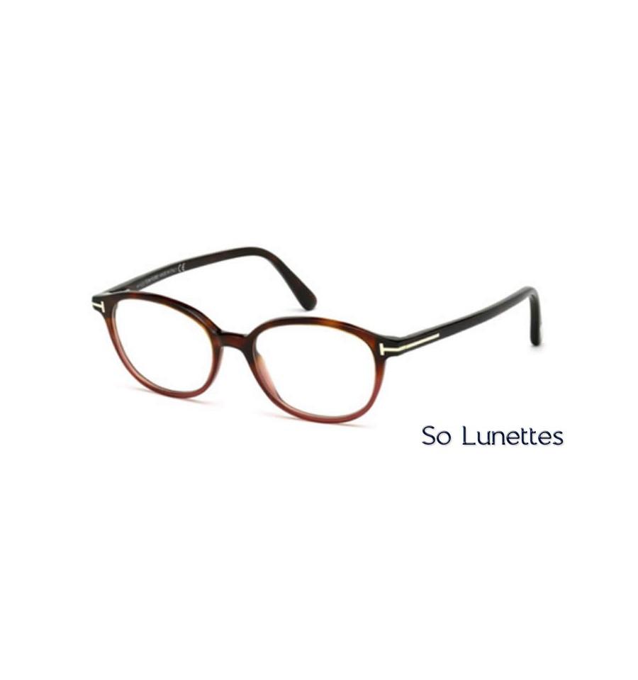 tom ford ft5391 054 tortoise rouge so lunettes. Black Bedroom Furniture Sets. Home Design Ideas