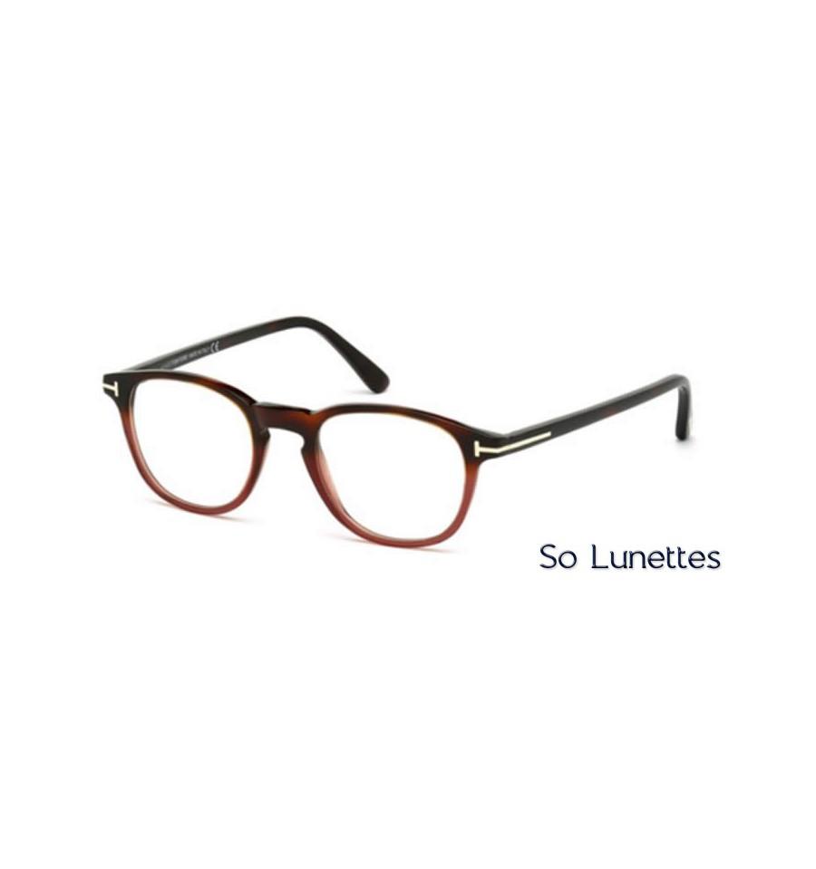 tom ford ft5389 054 tortoise rouge so lunettes. Black Bedroom Furniture Sets. Home Design Ideas