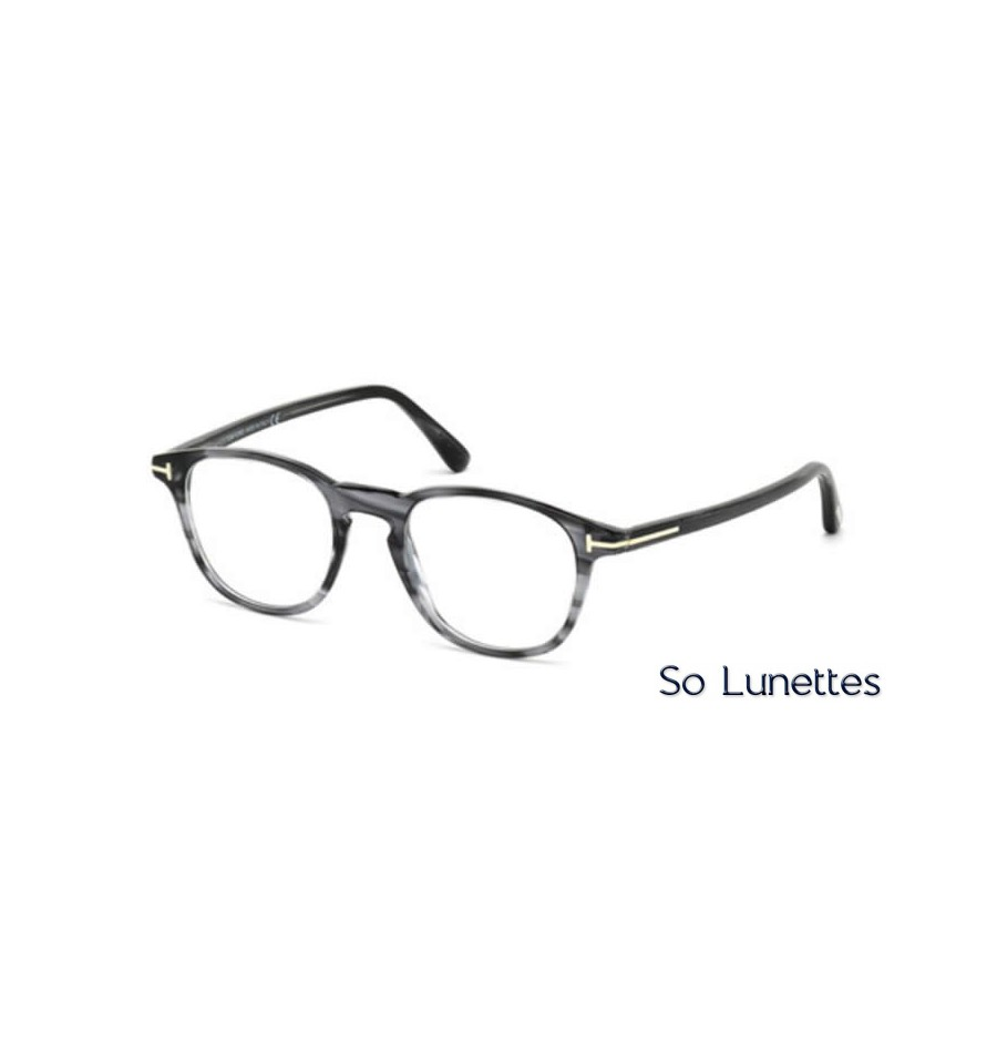 Lunette de vue Tom Ford FT5389 020 gris c47269aa852c