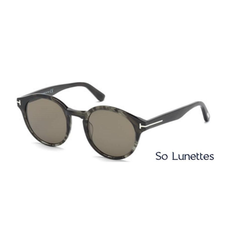 lunettes de soleil Tom Ford FT0400 20B gris - gris fumé 174bade81b8f