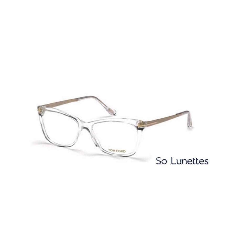 tom ford ft5353 026 cristal so lunettes. Black Bedroom Furniture Sets. Home Design Ideas