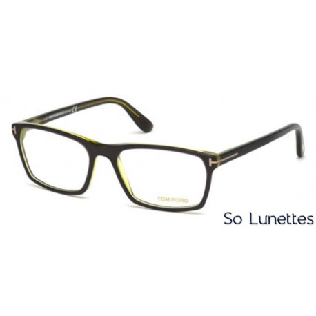4f5d512f0d0a6f Lunette de vue Tom Ford FT5295 098 vert foncé