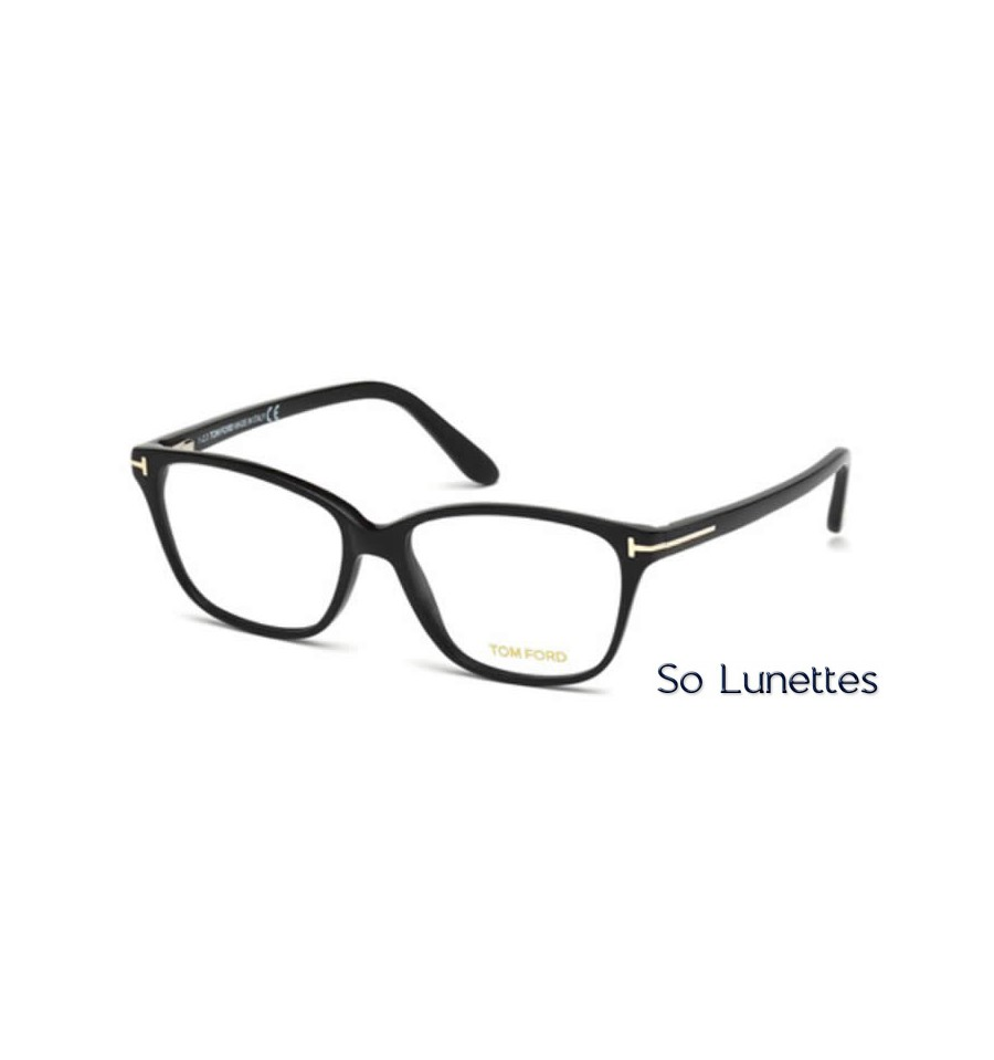 Lunette de vue Tom Ford FT5293 001 noir brillant 65edef2578e7