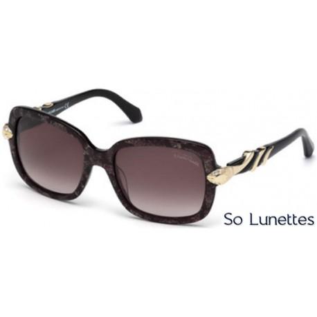 087fdce06302a6 Lunettes de soleil Roberto Cavalli RC879S 82Z violet opaque - violet fumé