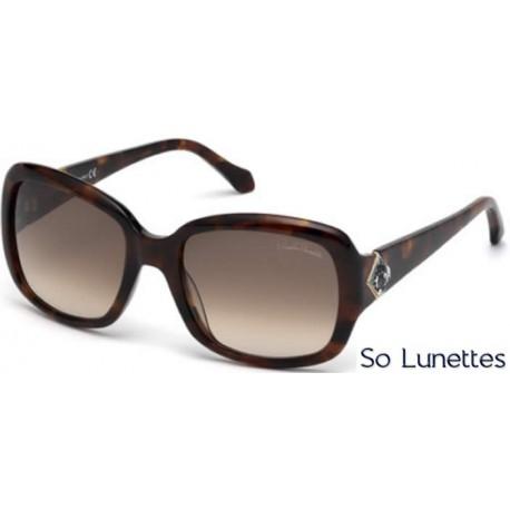 cfc772651a09c5 Lunettes de soleil Roberto Cavalli RC881S 52Z tortoise foncé - violet fumé