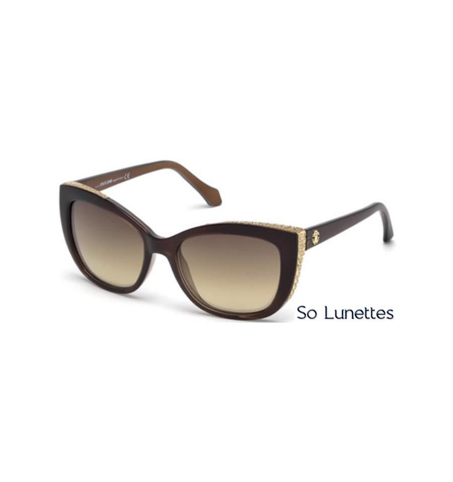 2d9b622a954f44 Lunettes de soleil Roberto Cavalli RC888S 83G violet - marron miroité