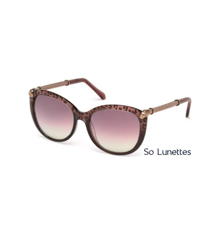 d35ca82829639c Lunettes de soleil Roberto Cavalli RC979S 83Y violet - violet