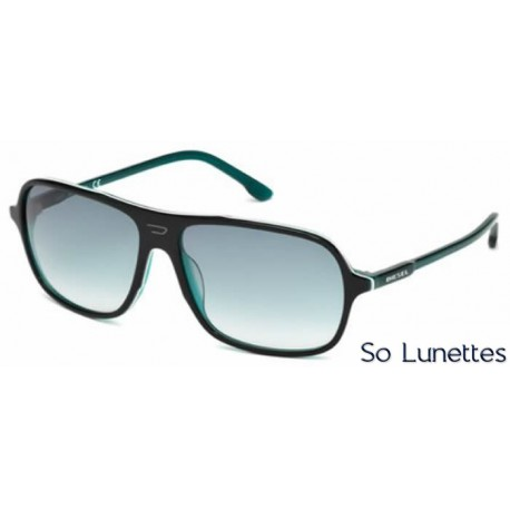 diesel dl0014 05w noir bleu fum so lunettes. Black Bedroom Furniture Sets. Home Design Ideas