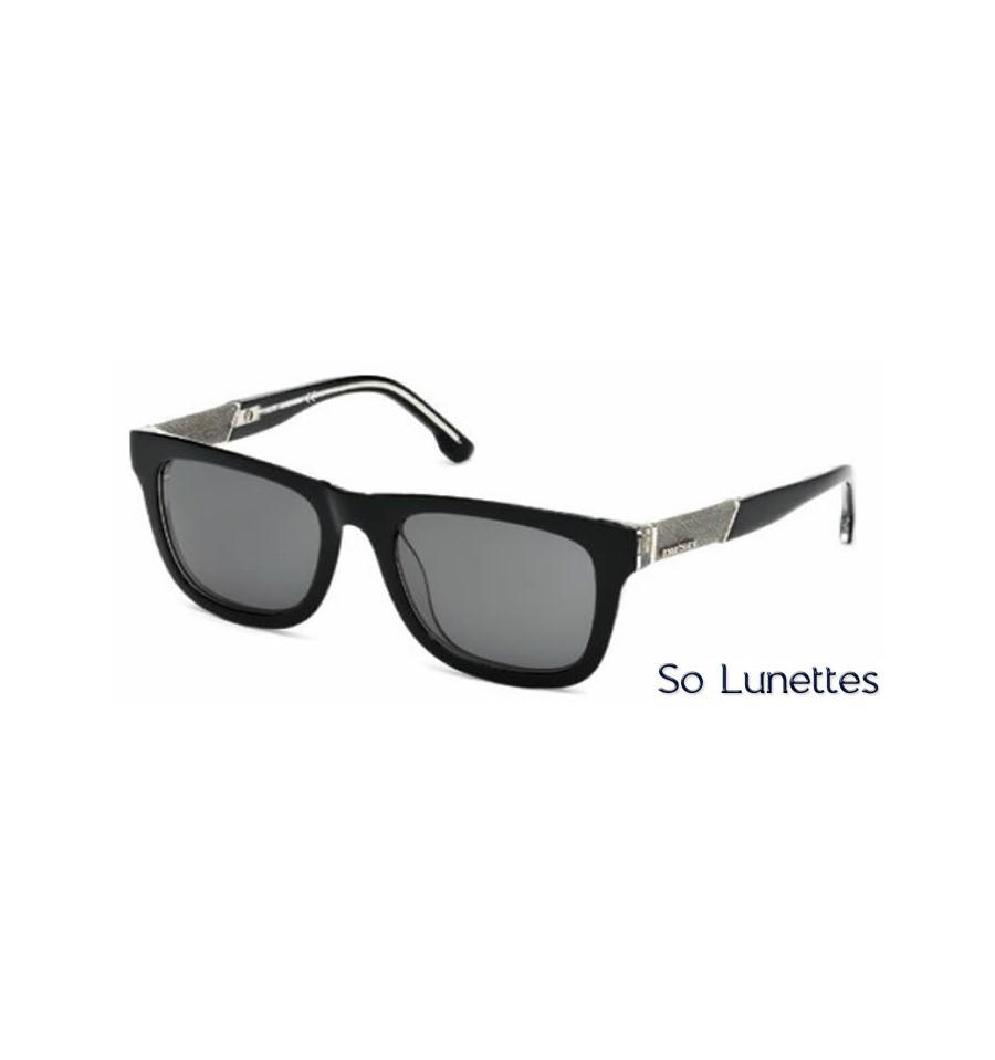 Lunette de soleil Diesel DL0050 03A Noir-cristal - gris c63d6b4faed8