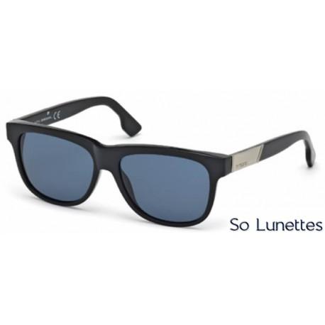 diesel dl0085 01v noir brillant bleu so lunettes. Black Bedroom Furniture Sets. Home Design Ideas