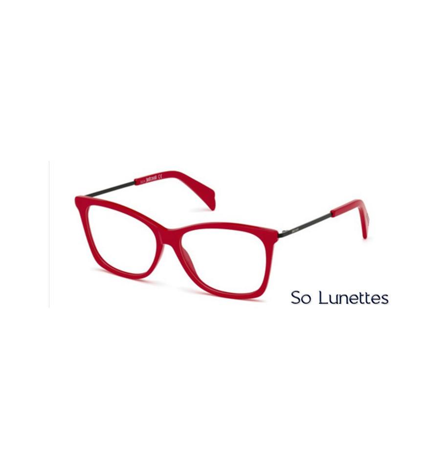 just cavalli jc0705 066 rouge brillant so lunettes. Black Bedroom Furniture Sets. Home Design Ideas