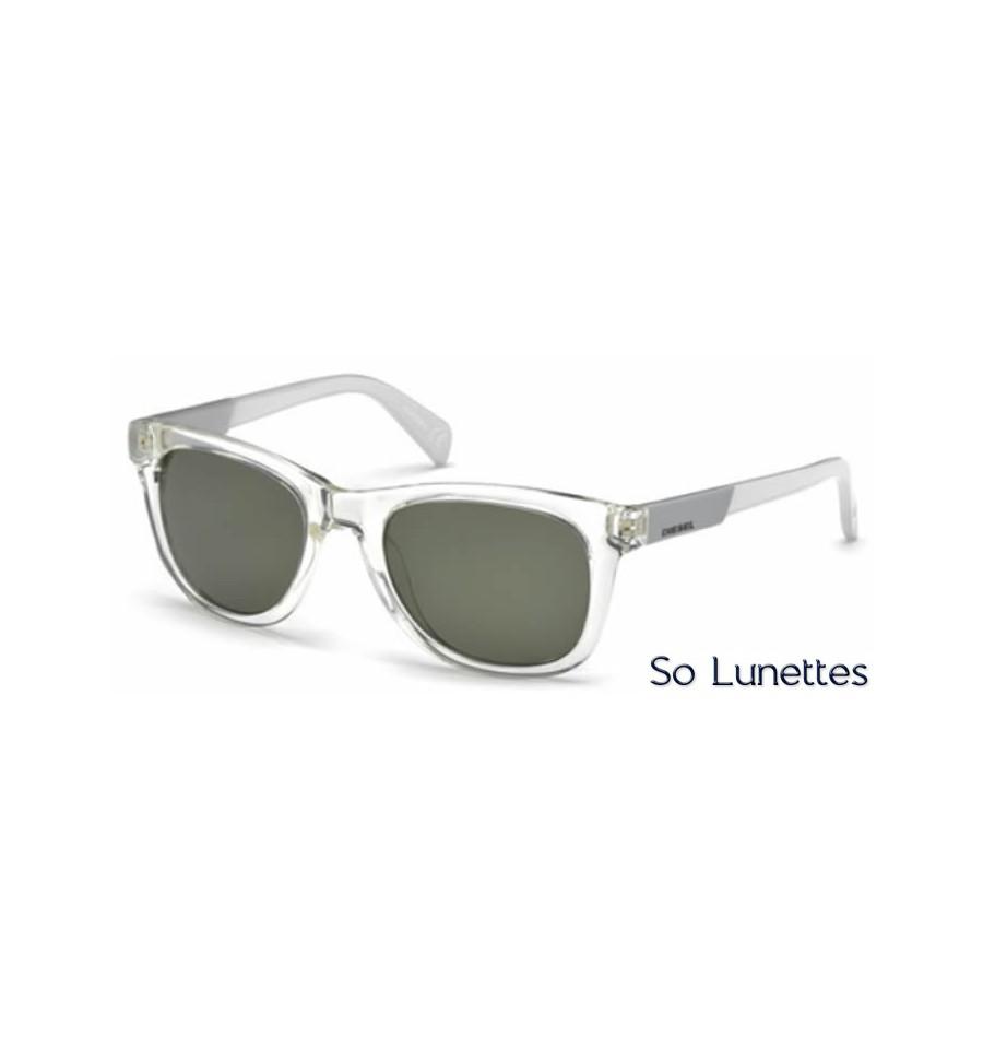 diesel dl0135 26n cristal vert so lunettes. Black Bedroom Furniture Sets. Home Design Ideas
