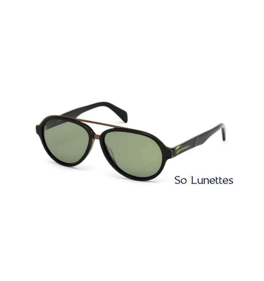 Lunette de soleil Diesel DL0159 05N Noir - vert fc061942d943