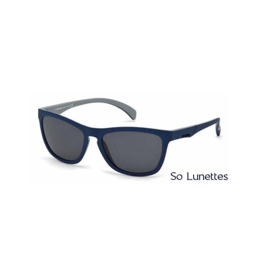 diesel dl0171 92a bleu gris so lunettes. Black Bedroom Furniture Sets. Home Design Ideas