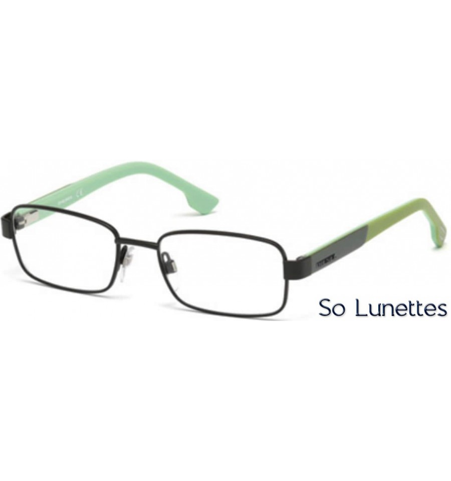 Lunette de vue Diesel DL5227 097 vert foncé opaque f2af3731fff5